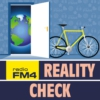 Logo of the podcast FM4 Reality Check Podcast