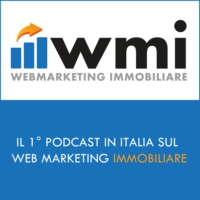 Logo of the podcast Web Marketing Immobiliare Podcast