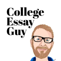 Logo of the podcast The College Essay Guy Podcast: A Practical Guide to College Admissions
