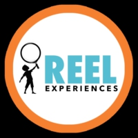 Logo of the podcast REEL CONVERSATIONS