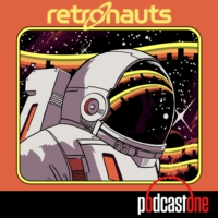 "Logo of the podcast Retronauts Episode 133: Steamworld & Chip Tanaka's ""Django"""