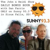 Logo of the podcast John & Heidi BONUS HOUR on Sunny 93.3