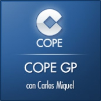 Logo of the podcast COPE GP con el GP de Hungría. Parte 1