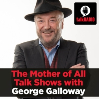 Logo of the podcast The Mother of All Talk Shows with George Galloway