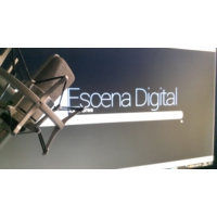 Logo of the podcast Escena Digital Locutores. Mensajes