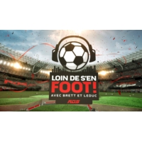 Logo of the podcast Loin de s'en foot!