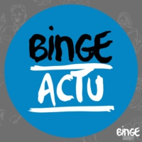 Logo of the podcast Binge Actu