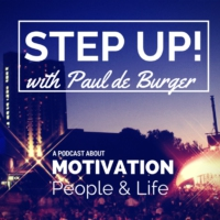 Logo of the podcast Step Up! with Paul de Burger