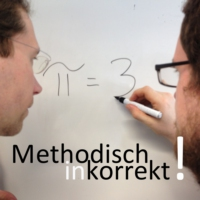 "Logo of the podcast Minkorrekt Folge 27 ""Laborraketen"""