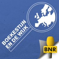 Logo of the podcast De Britse leugen