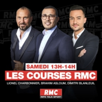 Logo of the podcast Les courses RMC