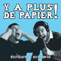Logo of the podcast Y a plus de papier !