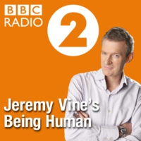 Logo of the podcast What Makes Us Human with Jeremy Vine
