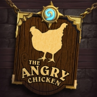 Logo of the podcast The Angry Chicken: A Hearthstone & Battlegrounds Podcast