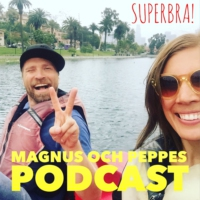 Logo of the podcast Magnus och Peppes podcast