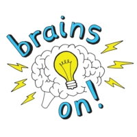 Logo of the podcast Brains On! Science podcast for kids