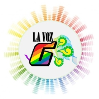 Logo of the podcast La voz G