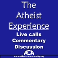Logo of the podcast The Atheist Experience