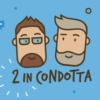 Logo of the podcast 2 in condotta