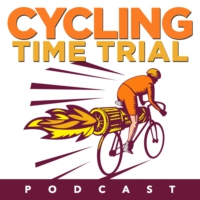 Logo of the podcast #58. Tim Mulrooney, 3x Masters Champ, HED Cyling products.