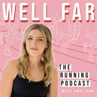 Logo of the podcast Well Far: The Running Podcast