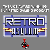 Logo of the podcast Retro Asylum -  The UK's No.1 Retro Gaming Podcast