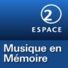 Logo of the podcast RSR - Musique en mémoire - Espace 2