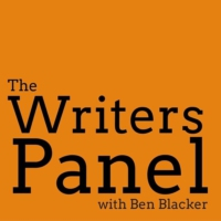 Logo of the podcast The Writers Panel with Ben Blacker