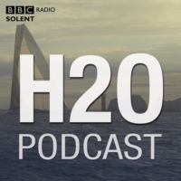 Logo du podcast Cowes Week, Ellen MacArthur Cancer Trust and Wightlink terminal investment.