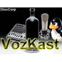 Logo of the podcast VozKast 001 ubuntu unity