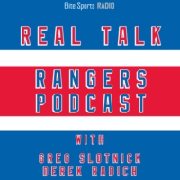 Logo of the podcast Real Talk Rangers Podcast: NHL Free Agency Edition