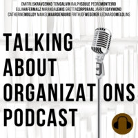 Logo of the podcast Talking About Organizations Podcast