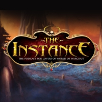 Logo of the podcast The Instance: The Podcast for Lovers of Blizzard Games