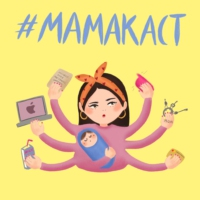 Logo of the podcast Мамакаст