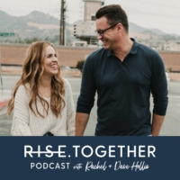Logo of the podcast RISE Together Podcast