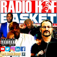 Logo of the podcast RADIO HOF BASKET