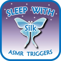 Logo of the podcast Sleep with Silk: ASMR Triggers