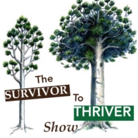 Logo of the podcast Survivor to Thriver Show: Transform Your Fear Into Freedom with Samia Bano