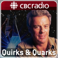 Logo of the podcast Canada's newest Nobel laureate, reading surgeons' minds, sniffing out shark water, a moon in an ali…