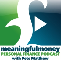 Logo of the podcast The Meaningful Money Podcast - Making Sense Of Money with Pete Matthew