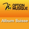 Logo du podcast RSR - Album suisse - Option Musique