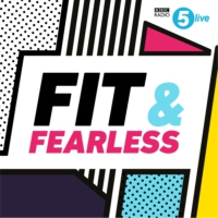 Logo of the podcast Fit and Fearless in the London Eye