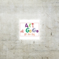 Logo of the podcast Art a GoGo Podcast