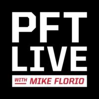 Logo of the podcast Pro Football Talk Live with Mike Florio