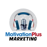 Logo of the podcast Motivation Plus Marketing