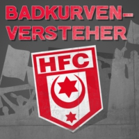 "Logo du podcast HFC-Moderatorin: ""Will das Derby in Liga 2"""