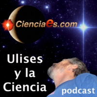 Logo of the podcast Tirachinas de antimateria.