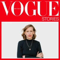 Logo of the podcast Vogue Stories