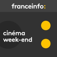 "Logo of the podcast Cinéma week-end. ""Radin"" cartonne, ""Aquarius"" triste Brésil, ""Dogs"" western roumain"