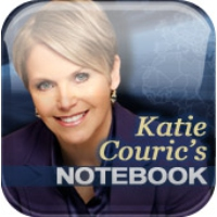 Logo of the podcast Katie Couric's Notebook